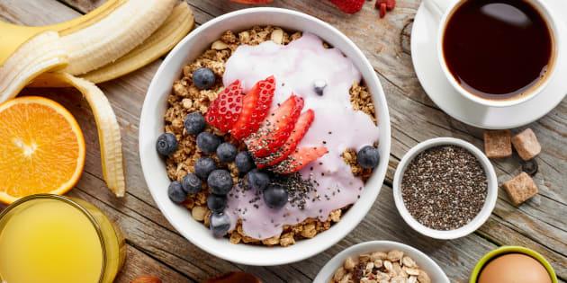 Swap refined cereals for muesli or oats.