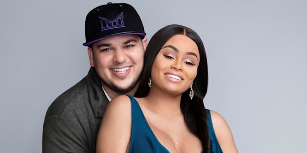 ROB & CHYNA -- Season:1 -- Pictured: (l-r) Rob Kardashian, Blac Chyna -- (Photo by: Tommy Garcia/E! Entertainment/NBCU Photo Bank via Getty Images)