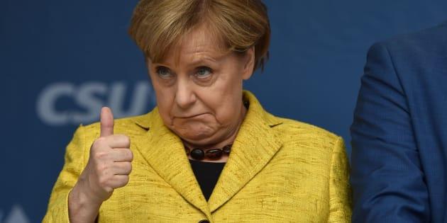 Imagen de archivo de la canciller alemana, Angela Merkel.