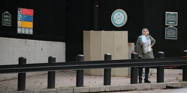 Embajada de Estados Unidos en Ankara.