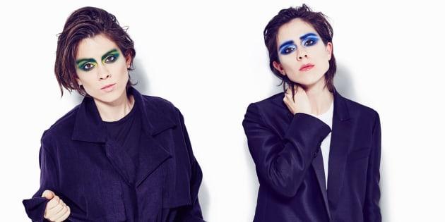 As gêmeas canadenses Tegan e Sara vão se apresentar no Lollapalooza.
