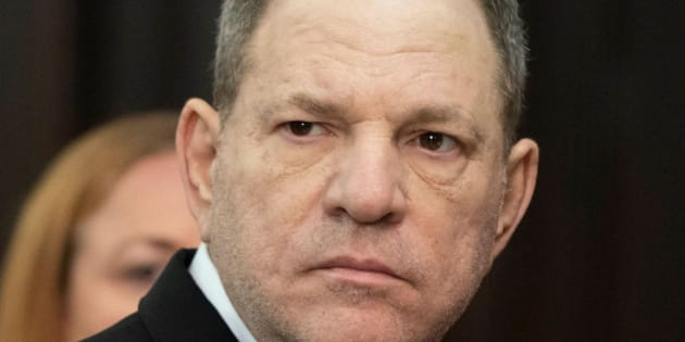 El productor Harvey Weinstein, fotografiado el 25 de mayo en Nueva York en la Manhattan Criminal Court.