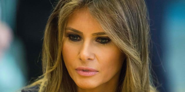 Imagen de archivo de la primera dama de EEUU, Melania Trump.