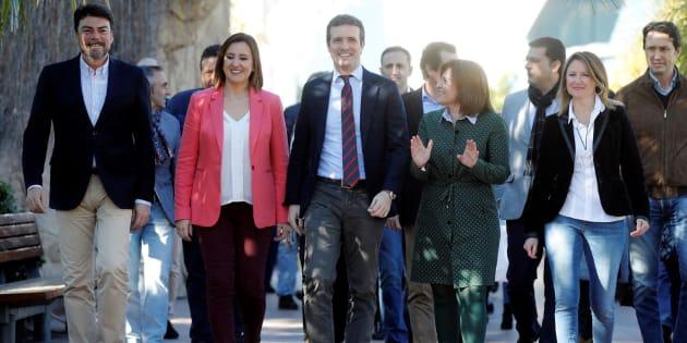 Pablo Casado en Valencia.