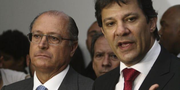 Fernando Haddad (PT) foi prefeito de São Paulo durante o governo de Geraldo Alckmin (PSDB) no estado.