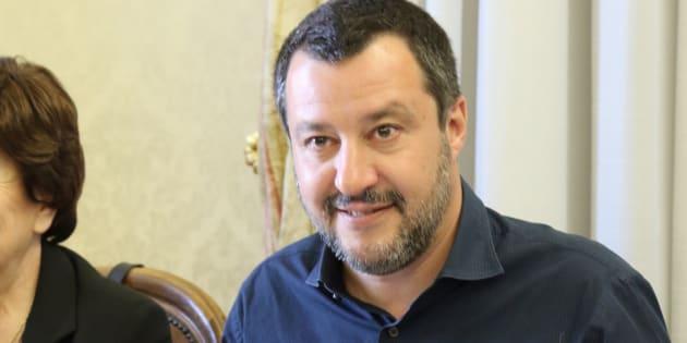 """Matteo Salvini: """"Non vado al pranzo con Xi Jinping al Q"""