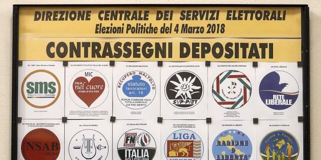 Elezioni, il Viminale ferma i Forconi e Democrazia cristiana: ammessi 75 simboli sui 103 depositati
