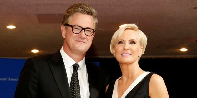 Joe Scarborough y Mika Brzezinski , presentadores insultados por Trump.