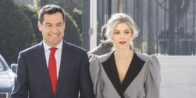 Moreno y su esposa