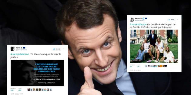 #JamaisMacron : comment les militants pro-Macron ont détourné le hashtag de leurs adversaires