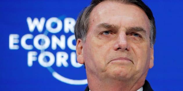 Bolsonaro, en la cumbre de Davos