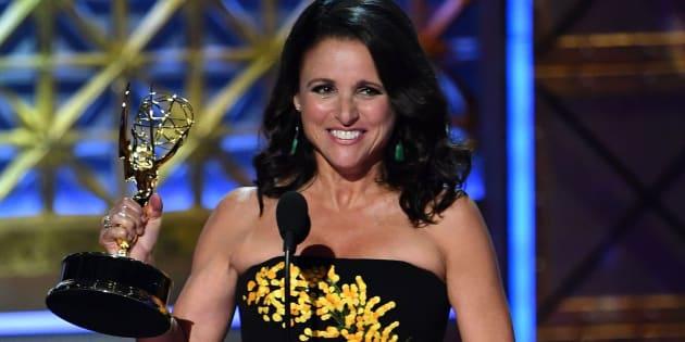 Julia Louis-Dreyfus recogió este domingo su sexto Emmy consecutivo por 'Veep'.