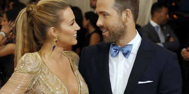 Blake Lively and Ryan Reynolds attend the Metropolitan Museum of Art Costume Institute Gala in New York City on May 1, 2017.