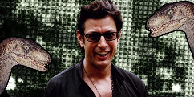 """25 ans plus tard, Jeff Goldblum revient sur le film """"Jurassic Park""""."""