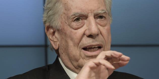 El premio Nobel de Literatura en 2010, Mario Vargas Llosa