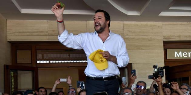 El nuevo ministro del Interior italiano, Matteo Salvini.