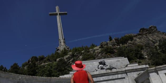 Visitantes en el Valle de los Caídos.