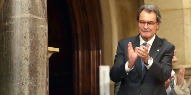 Imagen de archivo del expresidente de la Generalitat, Artur Mas.