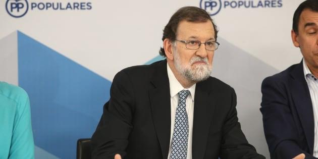 Imagen del pasado martes del expresidente Mariano Rajoy.