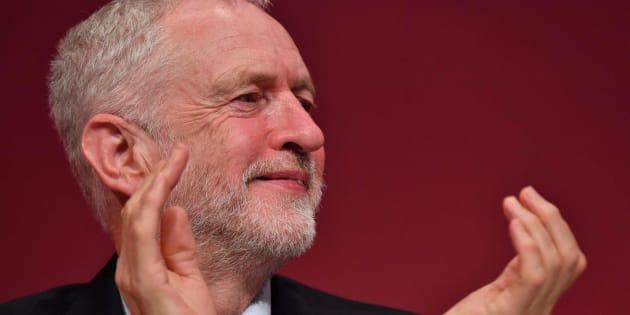 El líder del Partido Laborista Jeremy Corbyn.