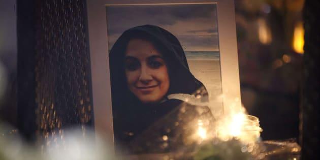 Una fotografía de Anne Marie D'Amico una de las fallecidas en el atropello masivo de Toronto.