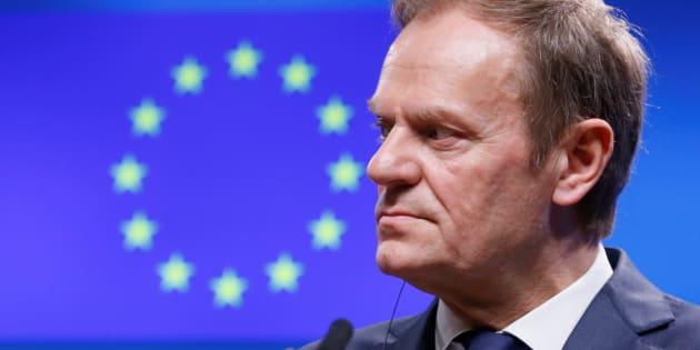Imagen de archivo del presidente del Consejo Europeo, Donald Tusk