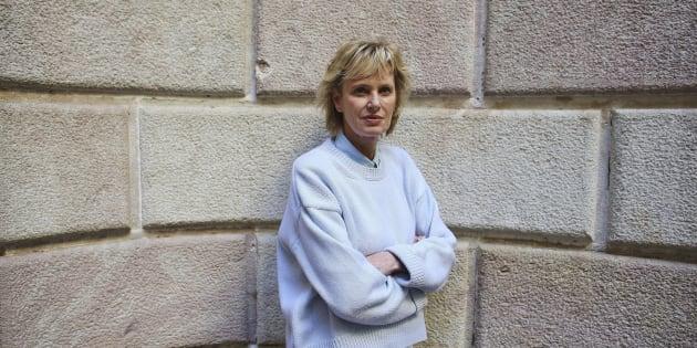 La escritora estadounidense Siri Hustvedt, en Barcelona.