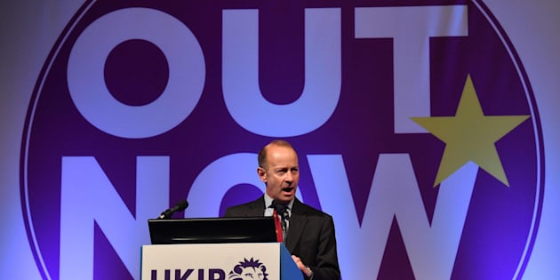 El nuevo líder del eurófobo UKIP, Henry Bolton.