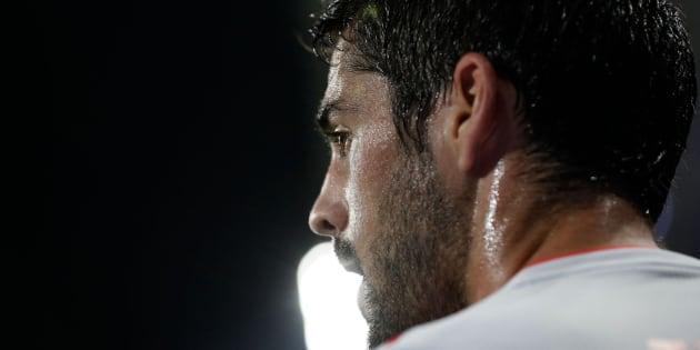 Imagen de Isco durante el debut de la Selección Española en el Mundial de Rusia.
