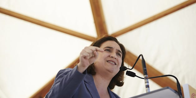 Imagen de archivo de la alcaldesa de Barcelona Ada Colau .