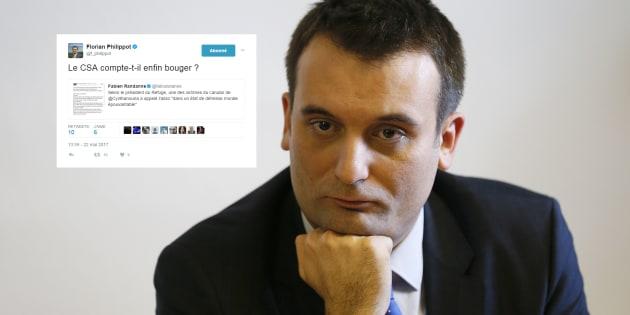 Florian Philippot réagit sur le canular homophobe de Cyril Hanouna dans TPMP.