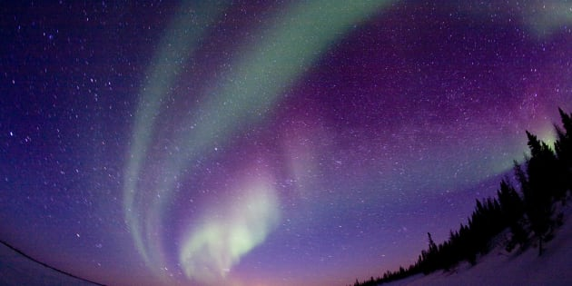 If geomagnetic storm strong enough, Aurora Borealis may show over northwest