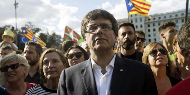 Carmen Forcadell y Carles Puigdemont