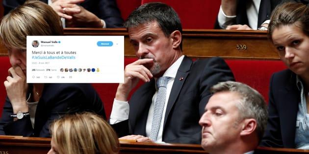 #JeSuisLaBandeDeValls: Manuel Valls fait monter un (obscur) hashtag de soutien à sa personne dans sa guerre contre Mélenchon