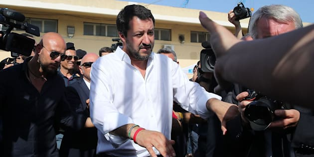 Imagen de archivo del vicepresidente italiano, Matteo Salvini.