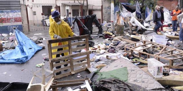 No último domingo (21), uma operação policial surpreendeu os frequentadores da Cracolândia em São Paulo.