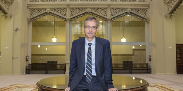 Pablo Hernández de Cos, futuro gobernador del Banco de España.