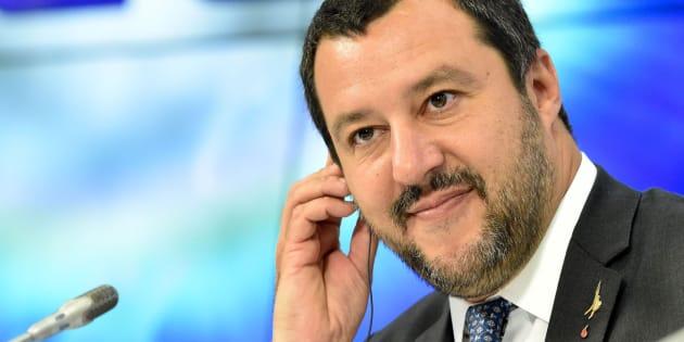 El ministro del Interior, Matteo Salvini.