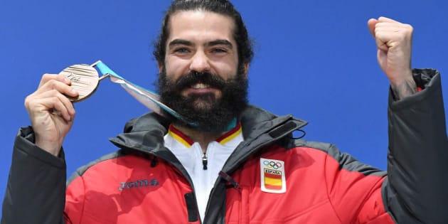 Regino Hernández, primera medalla de España en los Juegos de Invierno.