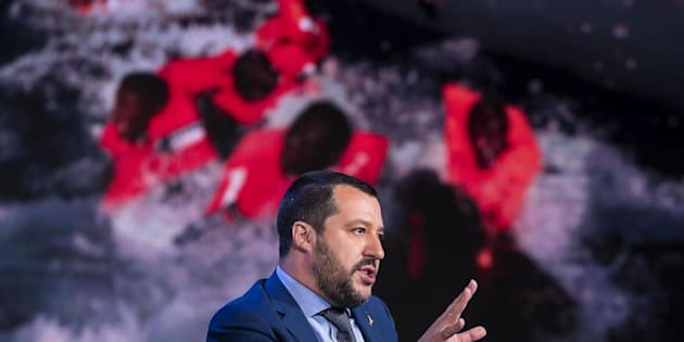El ministro italiano del Interior Matteo Salvini.