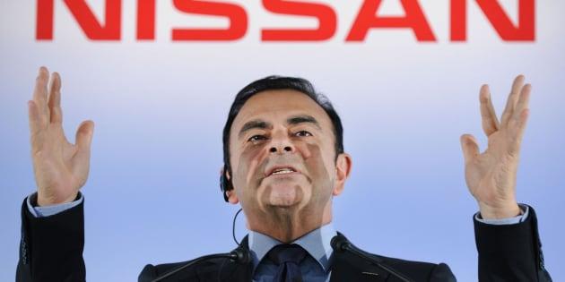 El expresidente de Nissan, Carlos Ghosn, en una imagen de archivo.