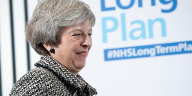 Imagen de archivo de Theresa May.