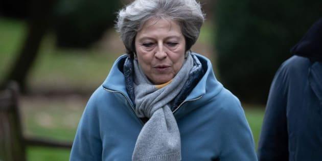 La primera ministra británica, Theresa May, en una imagen de archivo.
