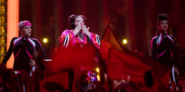 Israel, durante la primera semifinal de Eurovisión 2018.