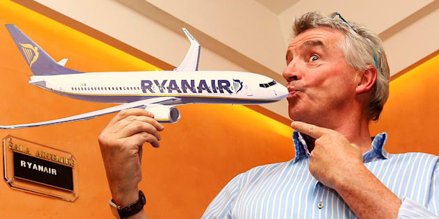 Michael O'Leary, CEO de Ryanair.