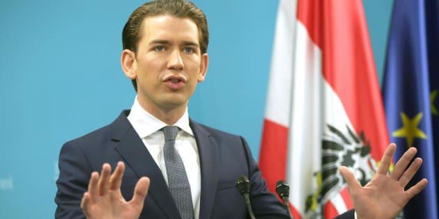 El líder del Partido Popular austríaco, Sebastian Kurz.