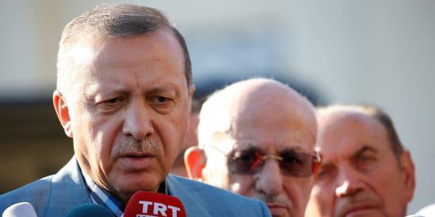 Imagen de archivo del presidente turco, Recep Tayyip Erdogan.