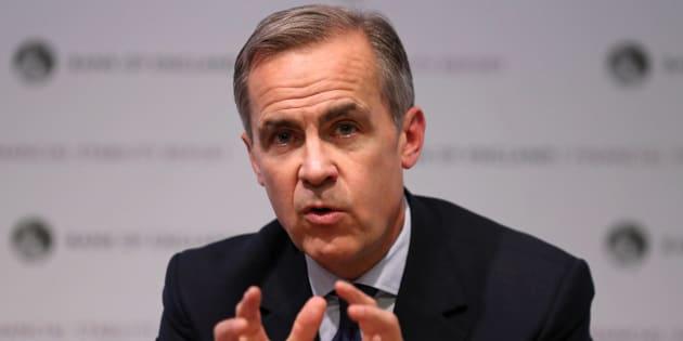 El gobernador del Banco de Inglaterra oMark Carney.
