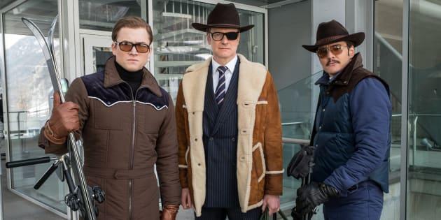 Os atores Gary Unwin, Colin Firth e Pedro Pascal são as estrelas do novo filme da franquia.