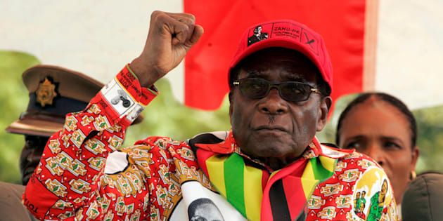 Imagen de archivo de Robert Mugabe.